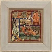 Набор для вышивки Pheasant Sampler Mill Hill