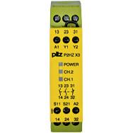 774350 Реле безпеки PILZ P2HZ X3 24VDC 2n/o 1n/c