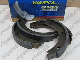 Тормозные колодки ручного тормоза ручника Mercedes Vito W638 | KAMPOL