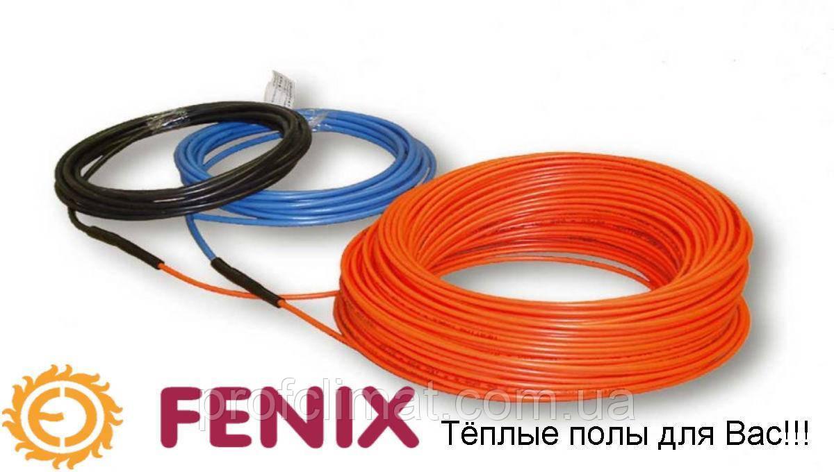 Теплый пол Fenix ASL1P 18 одножильный кабель, 1100W, 5,1-8,9 м2(ASL1P1100)