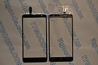 Оригинальный тачскрин / сенсор (сенсорное стекло) для Nokia Lumia 1320 (черный цвет) + СКОТЧ В ПОДАРОК