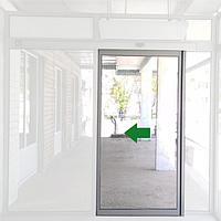 Комплект одной алюминиевой створки parkan для автоматических дверей art. PKNLFALU1