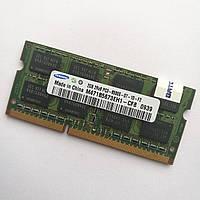 Оперативная память для ноутбука Samsung SODIMM DDR3 2Gb 1066MHz 8500S CL7 (M471B5673EH1-CF8) Б/У, фото 1