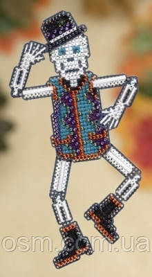 Набор для вышивки Mill Hill Mr. Bones / Мистер Кости