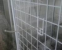 Торговий гачок (крючок) на сітку розміром  150 мм металопластик