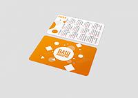 Изготовление календариков (печать и дизайн)