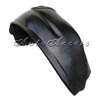 Підкрилки Peugeot Partner (1996-2008) комплект/4шт (з бортиком, під саморізи)