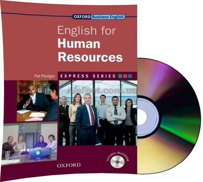 Английский язык /Business English For Human Resources+CD. Учебник с диском / Oxford