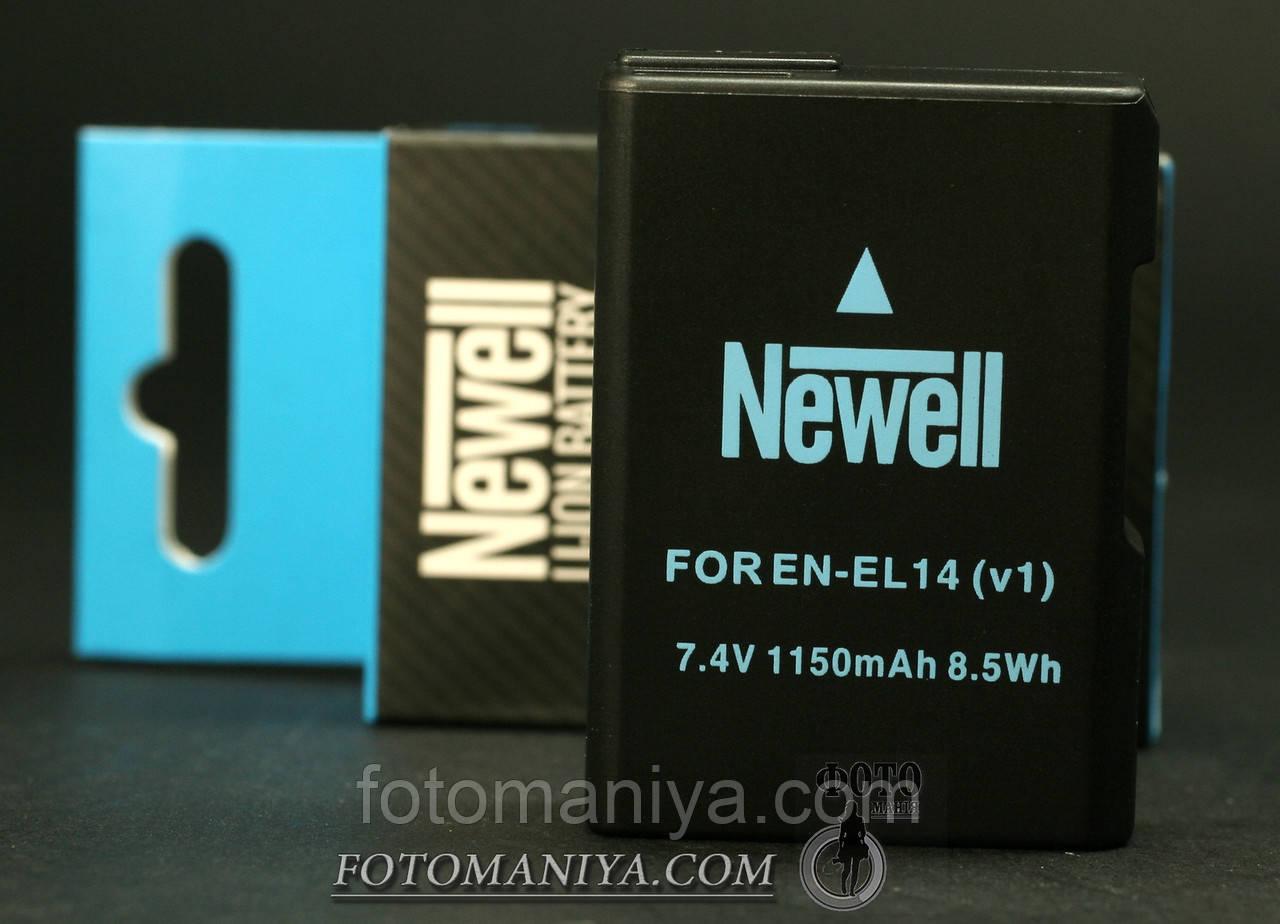 Акумулятори Newell для Nikon EN-EL 14(аналог)