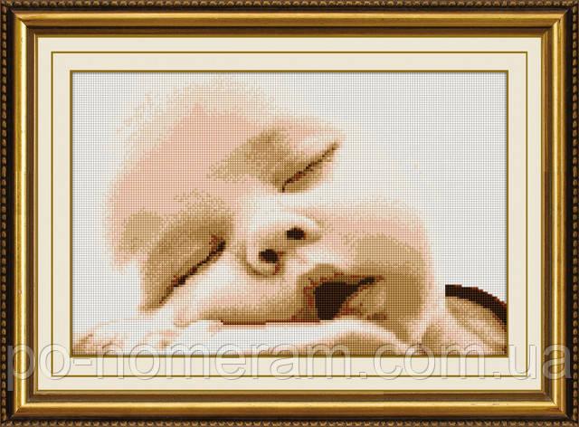 Вышитая картина в детскую своими руками