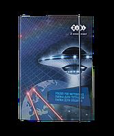 """Папка для тетрадей """"COSMO"""", картонная, на резинке B5+ ZB.14966"""