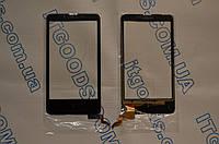 Оригинальный тачскрин / сенсор (сенсорное стекло) для Nokia X RM980 (черный цвет, самоклейка)
