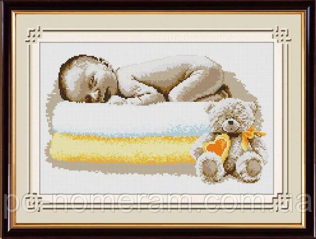 Алмазная вышивка Сладкий сон малыша