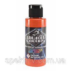 Краски для аэрографа Wicked Colors-W004-Orange