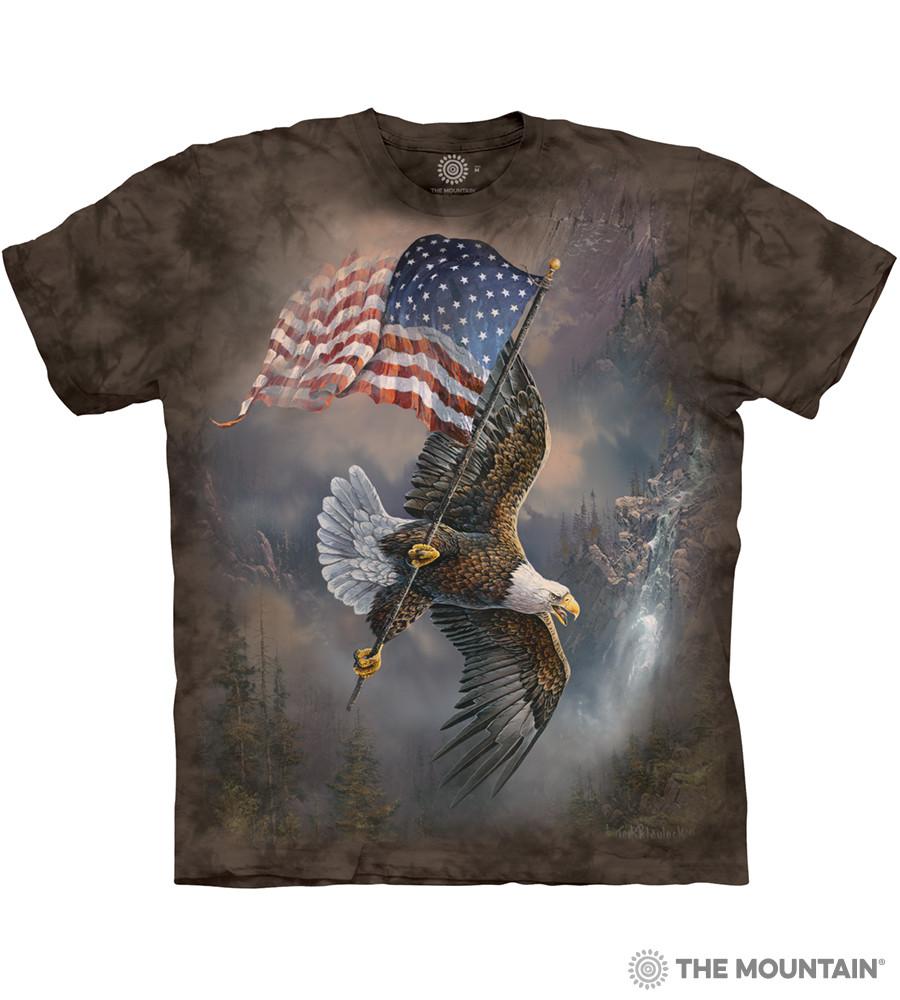 Футболка The Mountain - Flag-Bearing Eagle