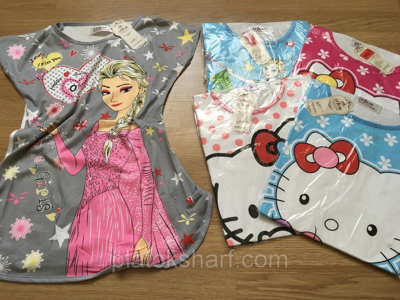 Пижамы детские, Ночнушки для девочек до 9 лет