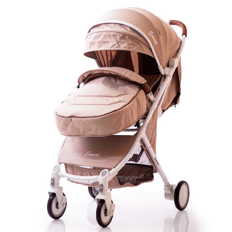 Детская прогулочная коляска книжка  Smart model D289 Biege