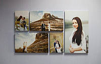 Печать Вашего фото на холсте