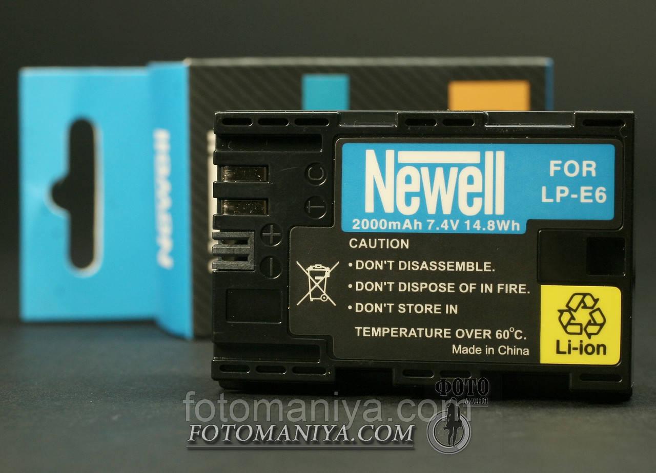 Акумулятори Newell для Canon LP-E6 (аналог)