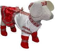 Костюм вишиванка для собачки Українка