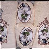Набір рушників (2шт) + тапочки, фото 4