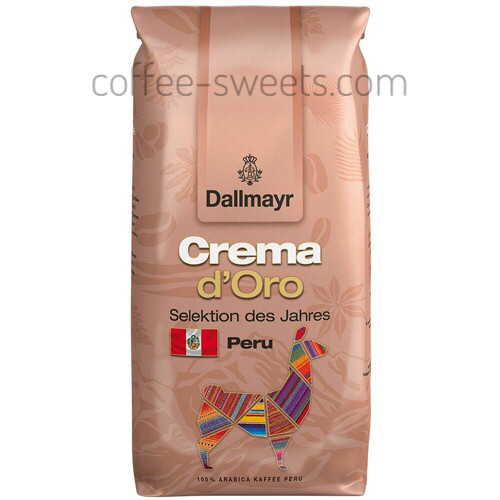 Кофе в зернах Dallmayr Crema d'Oro Peru 1kg