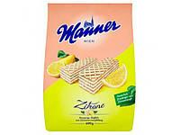 Вафли Manner Лимонные
