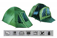 Палатка двухместная с тентом Fishing ROI