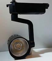Светильник светодиодный TRL20CW2 6500К ЧЕРНЫЙ трековый на шинопровод, фото 1