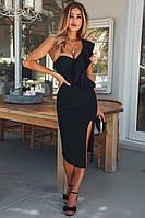 Бандажное платье    Herve Leger  с разрезом , фото 1