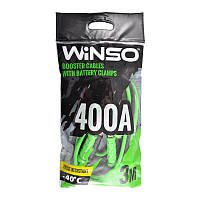 Провода прикуривания 400А 3м п/э пакет WINSO, 138420