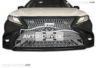 Передний бампер в сборе Lexus LS style для Toyota Camry 2018-…