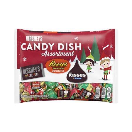 Шоколадные конфеты Hersheys Candy Dish Assortment