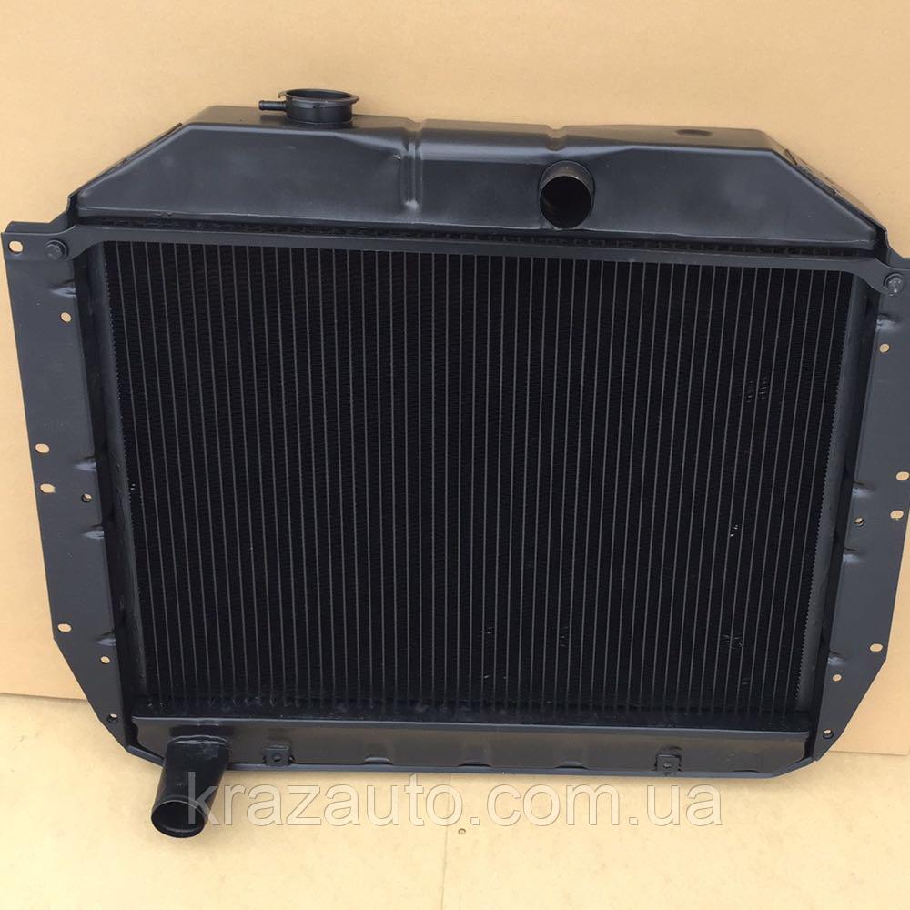 Радиатор водяного охлаждения ЗИЛ 130 (3-х рядн.) медн. 130-1301010