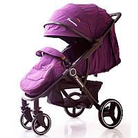 Детская прогулочная коляска книжка  Panamera C689 Purple