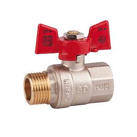"Кран шаровой Brass PN40 15 1/2"" НВ"
