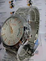 Мужские наручные часы skmei 9069 с датой на браслете