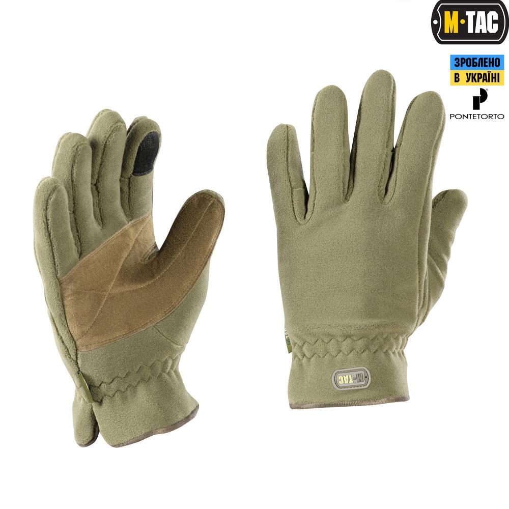 M-Tac перчатки Winter Premium Fleece Army Olive M
