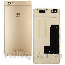 Задняя крышка Huawei P8 Lite (ALE-L21) gold