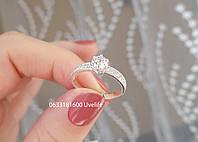 Кольцо Люкс из серебра 925, фото 1