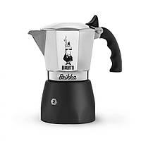 Гейзерная кофеварка Bialetti Brikka Черная NEW 2018 (4 чашки - 200 мл)