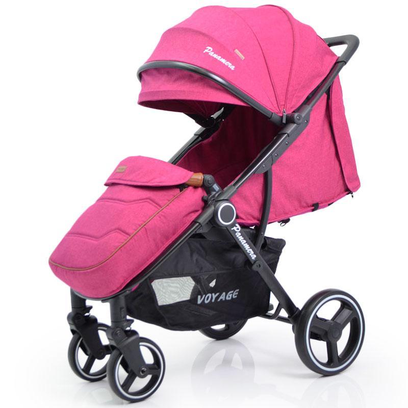 Детская прогулочная коляска книжка  Panamera C689 Pink