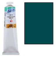 Краска масляная ЛАДОГА хром-кобальт сине-зеленый (А), 46мл ЗХК