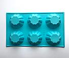 Силиконовая форма для выпечки в духовке (Кекс), фото 4
