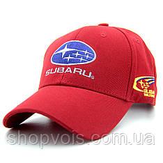 Кепка Subaru А05 Красная