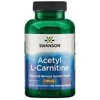 Ацетил L карнитин 500 мг 100 капсул США
