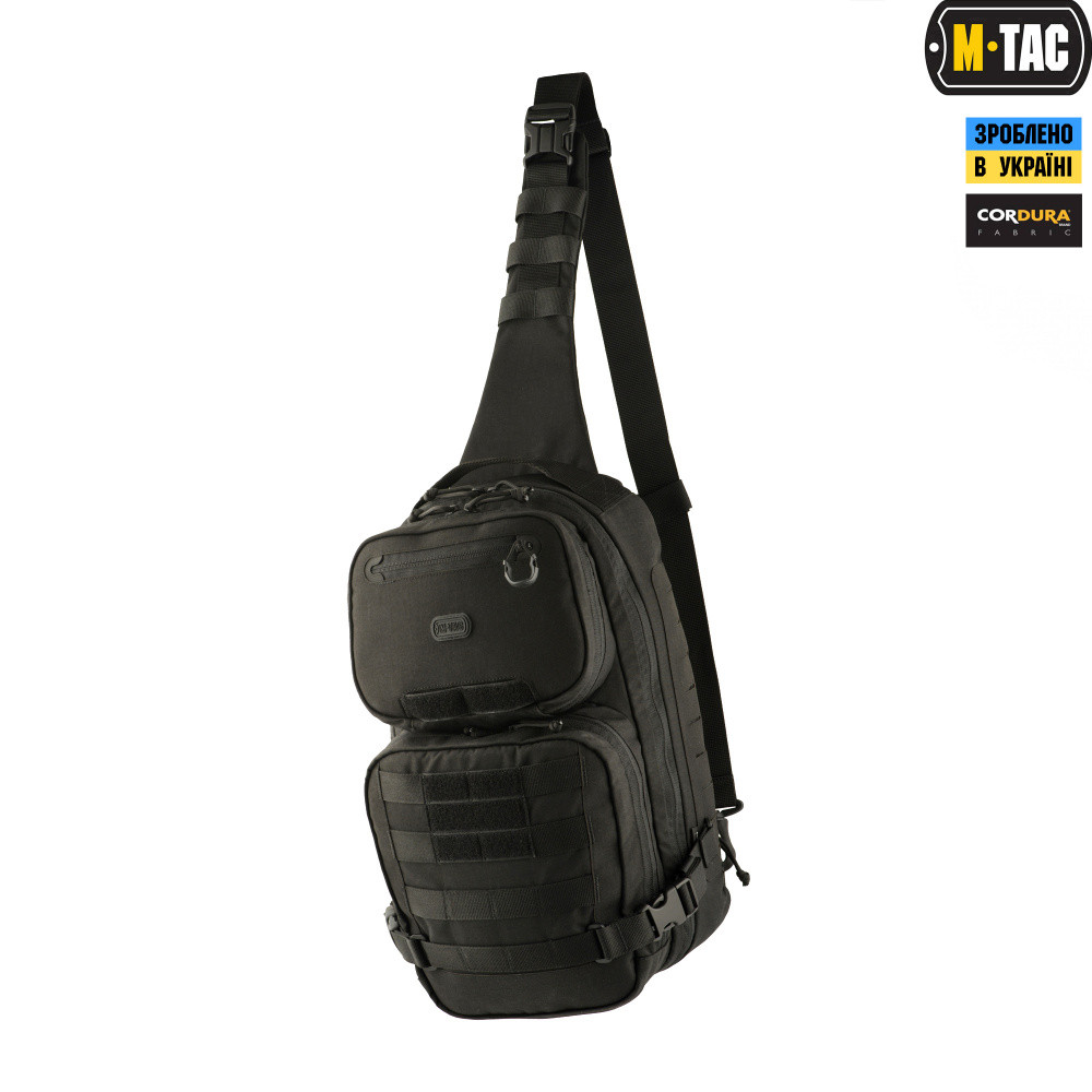 M-Tac рюкзак однолямочный Ant Slingpack Elite Black