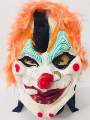Резиновая маска клоуна