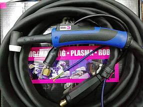 Сварочная горелка ABITIG® GRIP 26 (4 метровая) управление подачи газа кнопкой