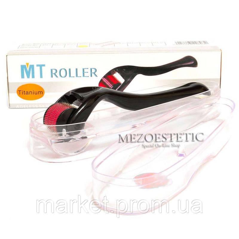 Мезороллер для лица МТ с титановыми микроиглами, 540 игл
